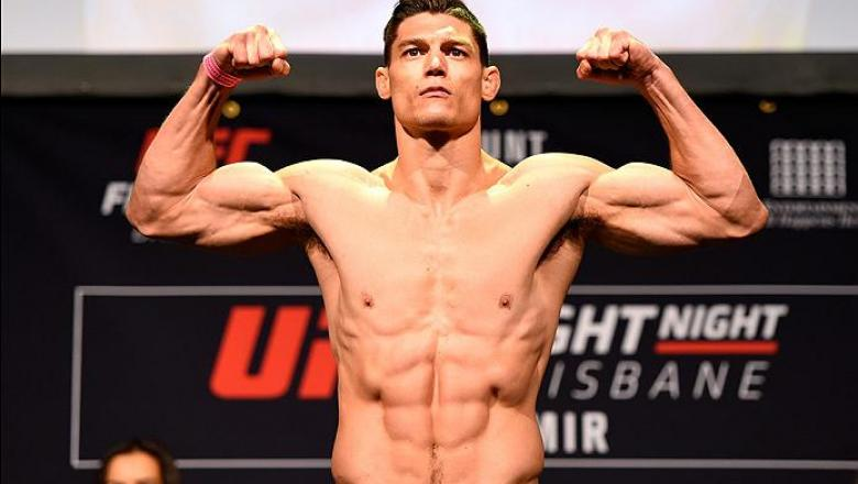 BRISBANE, AUSTRALIA - MARCH 19:  Alan Jouban weighs in during the UFC Fight Night weigh-in at the Brisbane Entertainment Centre on March 19, 2016 in Brisbane, Australia. (Photo by Josh Hedges/Zuffa LLC/Zuffa LLC via Getty Images)