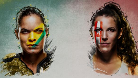 UFC 250: Nunes vs Spencer Poster
