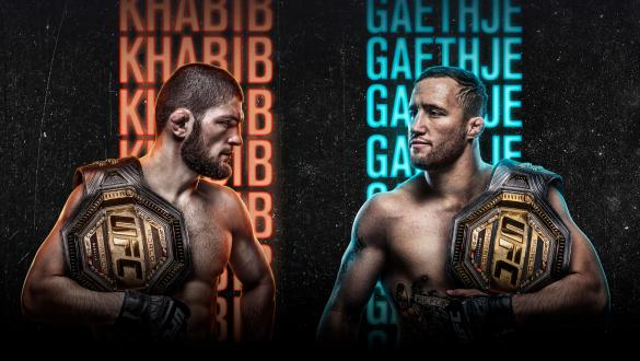 UFC 254: Khabib vs Gaethje Poster