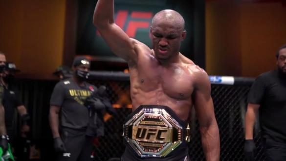 UFC 258: Kamaru Usman Post-Fight Rogan Interview