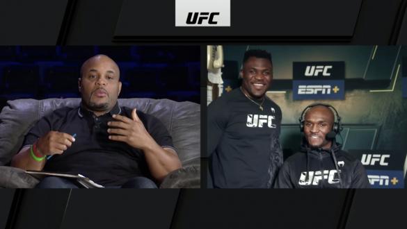 UFC 261 Weigh-In Show: UFC Heavyweight Champion Francis Ngannou joins UFC welterweight champion Kamaru Usman