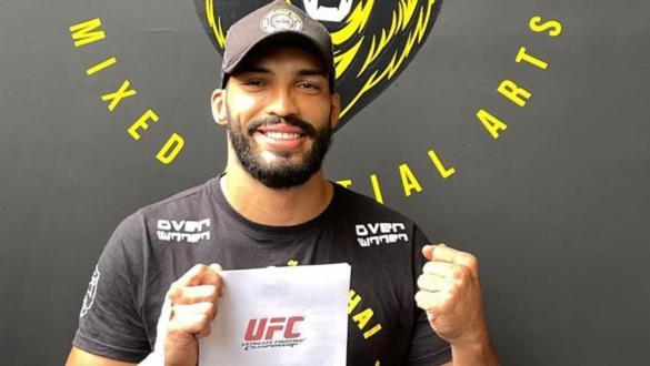 Bruno Blindado, peso-médio brasileiro