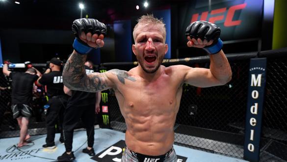 Personalidades do MMA reagem à vitória de Dillashaw no UFC Vegas 32