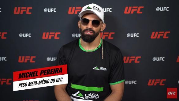 Michel Pereira, peso meio-médio do UFC