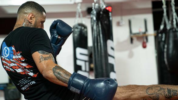 Daniel Rodriguez trains at the UFC Performance Institute (photo by Gavin Porter/Zuffa LLC)