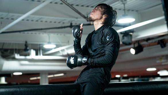 Ricky Turcios trains at the UFC Performance Institute (photo by Gavin Porter/Zuffa LLC)