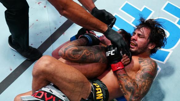 UFC Vegas 34: os recordes do evento