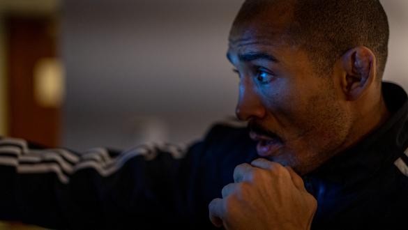 José Aldo treina no hotel antes do duelo com Pedro Munhoz no UFC 265