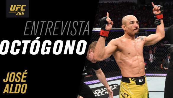 Entrevista de octógono com José Aldo   UFC 265