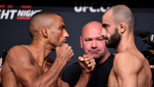 Edson Barboza e Giga Chikadze se encaram na pesagem do UFC Vegas 35