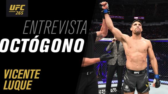Entrevista de octógono com Vicente Luque   UFC 265