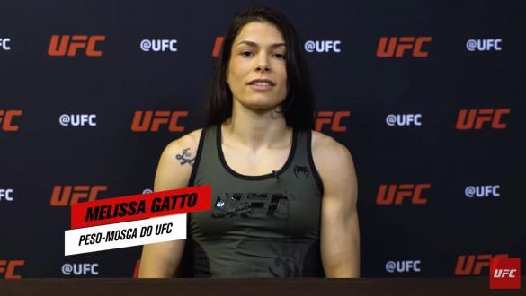 Melissa Gatto, peso-mosca do UFC