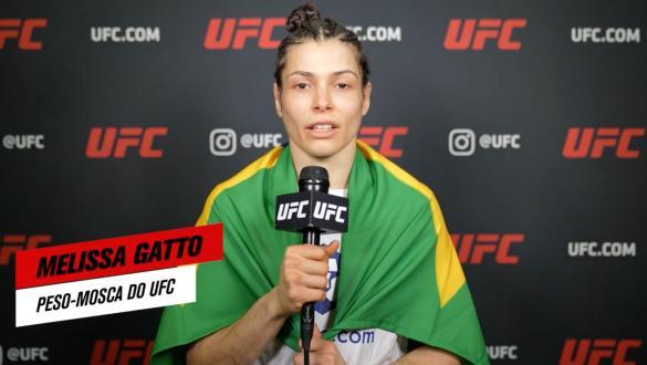"""""""É como um recomeço no MMA""""   Melissa Gatto   UFC 265"""