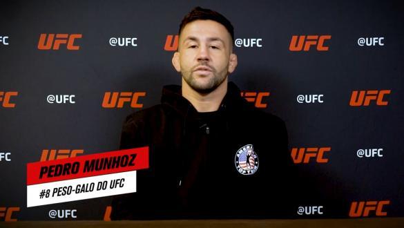 Cinco perguntas para Pedro Munhoz   UFC 265