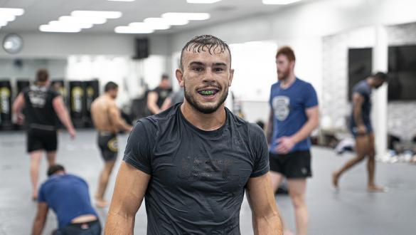 Dakota Bush trains at Glory MMA (photo by Gavin Porter/Zuffa LLC)