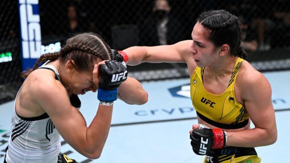 Ariane Lipski golpeia Mandy Böhm no UFC Vegas 37