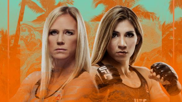 UFC Fight Night: Holm vs Aldana Poster on UFC Fight Island