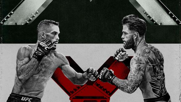 Rob Font and Cody Carbrandt headline UFC Fight Night on Saturday, May 22