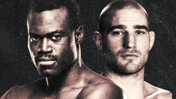 UFC Fight Night Uriah Hall vs Sean Strickland Fight Poster