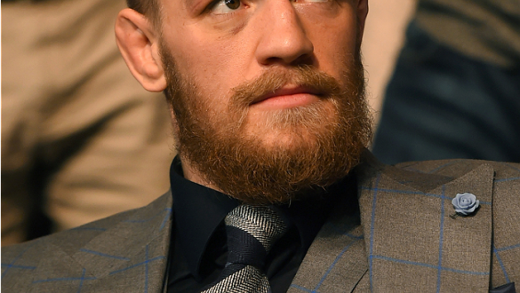 DUBLIN, IRELAND - OCTOBER 24:  UFC interim featherweight champion Conor McGregor watches as Neil Seery faces Jon Delos Reyes in their flyweight fight during the UFC event at 3Arena on October 24, 2015 in Dublin, Ireland. (Photo by Josh Hedges/Zuffa LLC/Zu