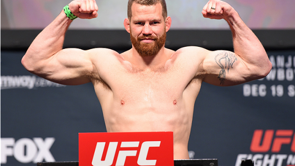 ORLANDO, FL - DECEMBER 18:   Nate Marquardt weighs in during the UFC weigh-in at the Orange County Convention Center on December 18, 2015 in Orlando, Florida. (Photo by Josh Hedges/Zuffa LLC/Zuffa LLC via Getty Images)