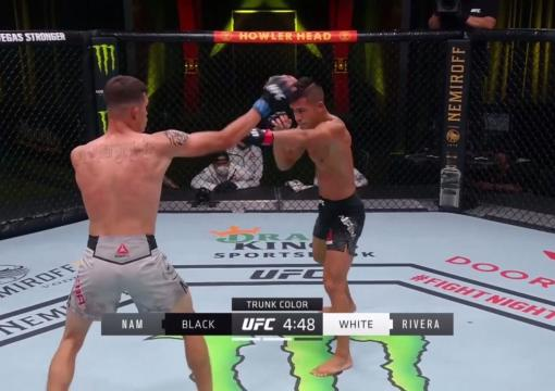 Tyson Nam TKOs Jerome Rivera at UFC Fight Night: Covington vs Woodley