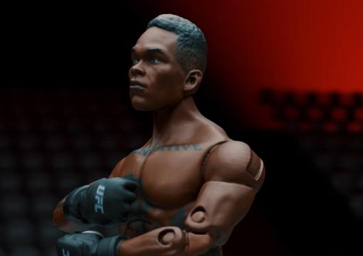 Jazwares Action Figures Adesanya