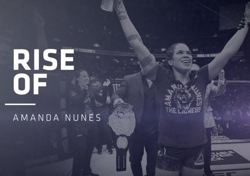 UFC Is Proud To Celebrate International Women's Day 2021 | The Rise Of Amanda Nunes