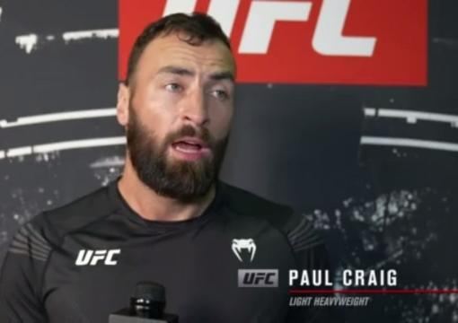Paul Craig reacts withUFC.comafter his TKO victory over light heavyweight Jamahal Hillat UFC 263: Adesanya vs Vettori 2 on June 12, 2021