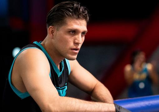 The Ultimate Fighter season 29 head coach Brian Ortega watches his team fight during episode two (photo by Chris Unger/Zuffa LLC)
