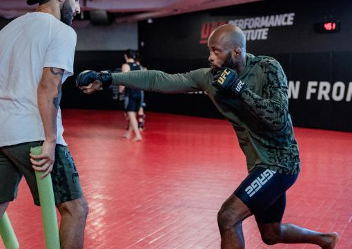 Flyweight Malcolm Gordon Trains At UFC Performance Institute Ahead Of His Bout At UFC Fight Night: Makhachev vs Moises
