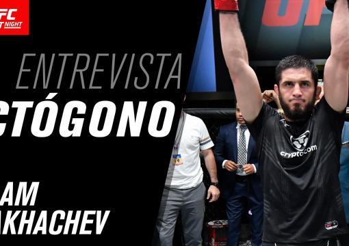 Entrevista de octógono com Islam Makhachev | UFC Vegas 31