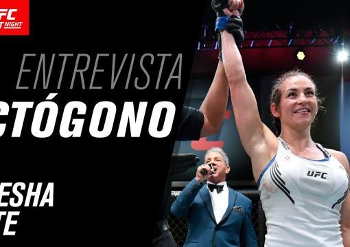 Entrevista de octógono com Miesha Tate | UFC Vegas 31