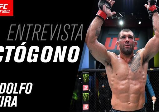 Entrevista de octógono com Rodolfo Vieira | UFC Vegas 31