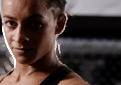 Maria Silva poses for a picture ahead of her Dana White's Contender Series bout on Season 5 Episode 7
