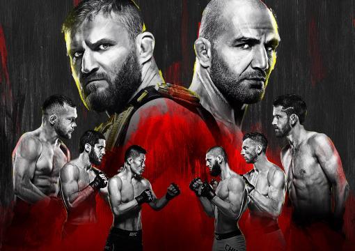 UFC 267 Poster