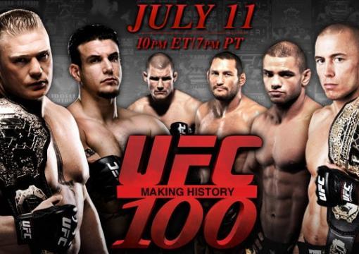 UFC 100 Poster