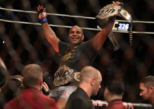 Black History: Daniel Cormier defeats Stipe Miocic at UFC 226 to become the UFC heavyweight champion, while also the UFC light heavyweight champion