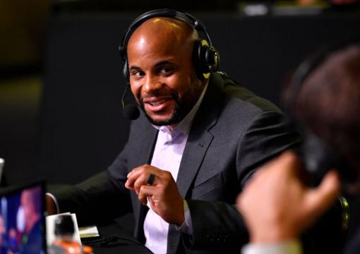 Black History: Daniel Cormier serves as the first color commentator for a UFC event (Zuffa era) at UFC Fight Night
