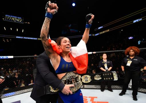 Black History: Germaine de Randamie defeats Holly Holm at UFC 208 to become the first Black Female UFC Champion