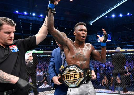 Black History: Israel Adesanya wins undisputed UFC middleweight title at UFC 243