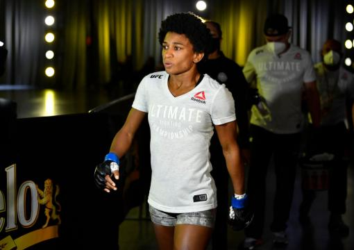 Black History: Angela Hill becomes the first African American female to headline a UFC event in her main event bout against Michelle Waterson atUFC Fight Night: Waterson vs Hill