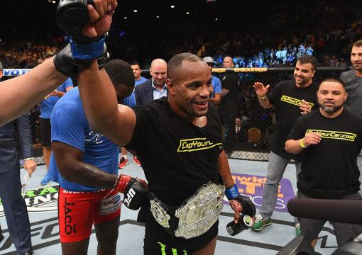 Black History: Daniel Cormier defeated Anthony Johnson for the UFC light heavyweight championship at UFC 187