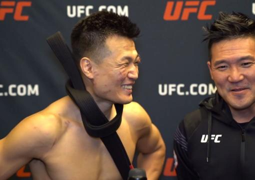 The Korean Zombie Talks with UFC.COM Backstage