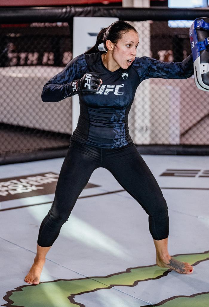 Marion Reneau Training For UFC Vegas 31
