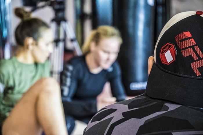 Las Vegas 5/27/18 - Antonina and Valentina Shevchenko at the UFC Performance Institute in las Vegas preparing for Dana White's Tuesday Night Contender Series.