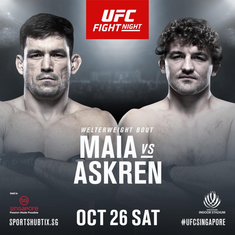 Askren Vs Maia To Headline UFC...