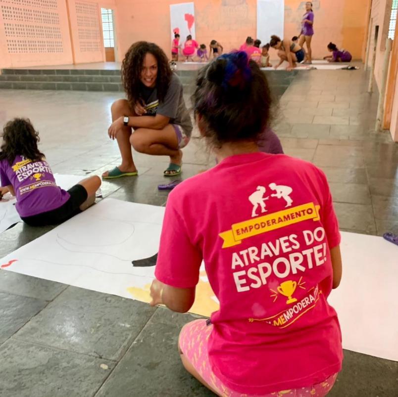 Como uma superatleta criou um projeto social para incluir meninas ...