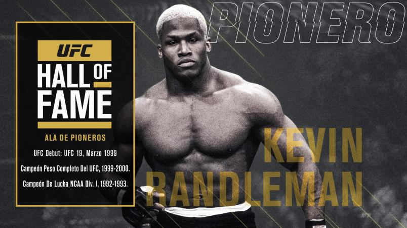 Throughout His Hall Of Fame Career, Kevin Randleman Was A Special Breed