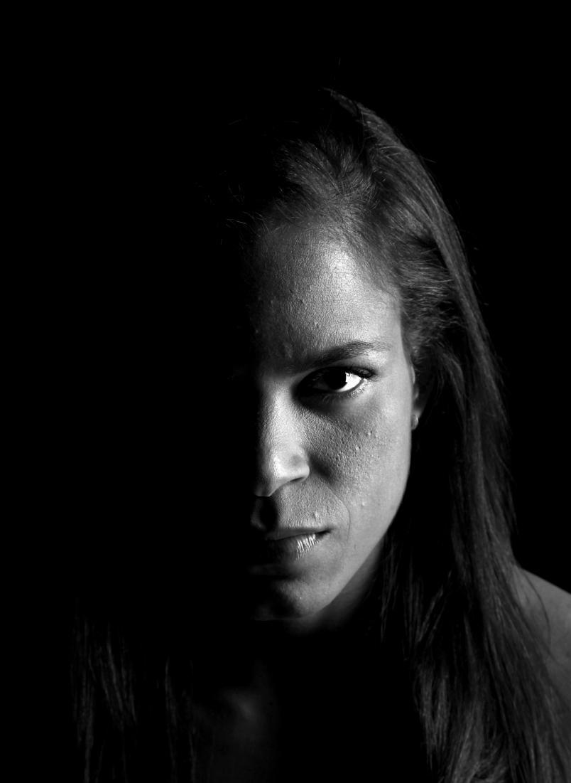 manda Nunes poses for a portrait on September 24, 2014 in Las Vegas, Nevada. (Photo by Brandon Magnus/Zuffa LLC via Getty Images)